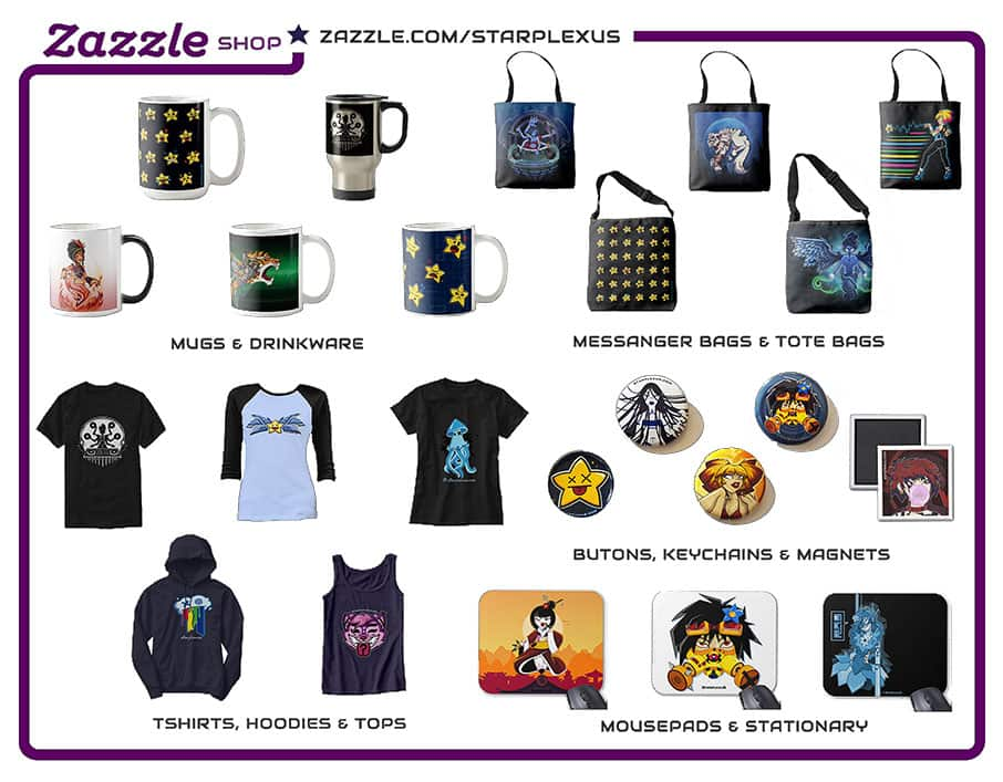 zazzle shop starplexus